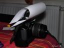 02 EOS 400D avec diffuseur pour flash interne papier