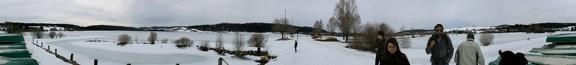 Panorama du lac de Remoray_360
