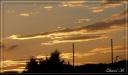 Coucher de soleil à Belfort